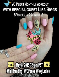 May 2015: VO Peeps Workout with Lisa Biggs!  #‎NailBranding‬ ‪#‎BrandImmersion‬ ‪#StudioNails‬ ‪#‎PhilRocks‬ For more information visit http://vopeeps.com
