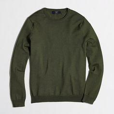 J.Crew Factory - Factory tall merino crewneck sweater