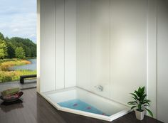 3D Bathroom Visualizations. Bathtub, 3d, Bathroom, Architecture, Standing Bath, Washroom, Arquitetura, Bathtubs, Bath Tube