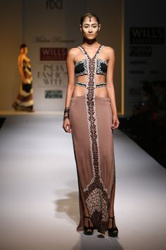 #wifw #wlifw #wifwss15 #fdci #fashionweek #MaliniRamani #designerwear #weheartit #invogue #elegant #tribe #femininewarrior #subtle #hues #cream #black #fig #indigo #tribal #applique #prints #handdye #drapes #jumpsuits #mirrorwork #kaftans #sari #playsuits #swimwear #bold #strong #feminine