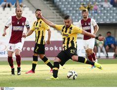 ΑΕΚ-Λάρισα 1-1 και σε συνδιασμό με το Ηρακλής-Απόλλωνας 0-1 η ΑΕΚ πήρε το πρωτάθλημα της football league!