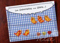 """""""Vogelchor"""" Postkarte  von Telse Ahrweiler       Kunst + Design auf DaWanda.com"""