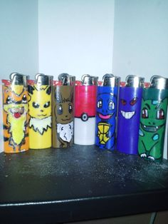 Hey, I found this really awesome Etsy listing at http://www.etsy.com/listing/170544763/hand-painted-pokemon-lighters