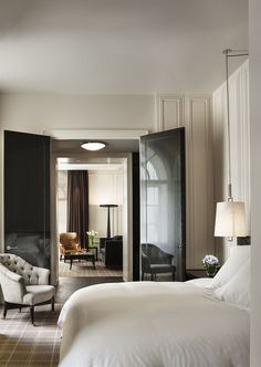 Gorgeous! Black lacquer doors :: Book Rosewood London, London, United Kingdom - Hotels.com