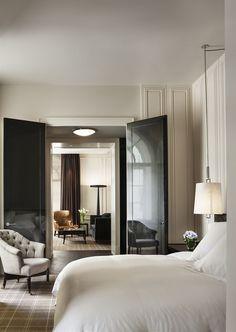 Gorgeous! Black lacquer doors :: Book Rosewood London, London, United Kingdom - Hotels.com