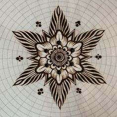 """Mehndika Joey Henna on Instagram: """"THE MANIFESTING MANDALA • • I wanna share this with you. It's something I created for myself, and since I've taught at conferences and…"""" Henna Art, Mandala, Curvy, Brooch, Teaching, Create, Inspiration, Instagram, Design"""