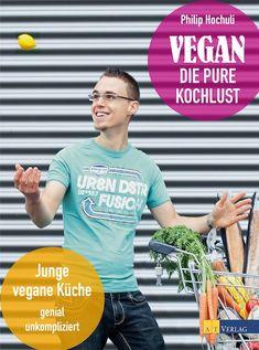 Philip Hochuli ist der Shootingstar der veganen Kochszene in der Schweiz. Jetzt ist sein zweites veganes Kochbuch fertig. Wichtig für den jungen Koch: junge, vegane Küche mit Rezepten, die sich mit Zutaten aus dem Supermarkt einfach und schnell kochen lassen.Vegan - die pure Kochlust.