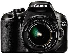 Amazon.com: Canon EOS 600D (European EOS Rebel T3i) 18 MP CMOS Digital SLR Camera and DIGIC 4 Imaging with EF-S 18-55mm f/3.5-5.6 IS Lens: Camera & Photo