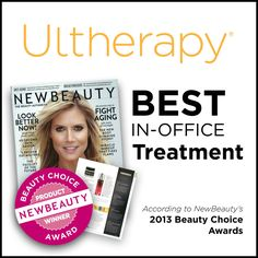 Ultherapy is an FDA-approved, non-invasive, new type of non-surgical procedure that uses ultrasound to tone, lift, and tighten the loose skin on the neck, brow, and under the chin.