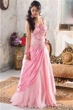 Angelic Wedding Wear Designer Gown-$262