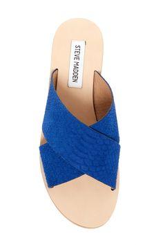 Mylia Crisscross Slider Sandal by Steve Madden on @nordstrom_rack