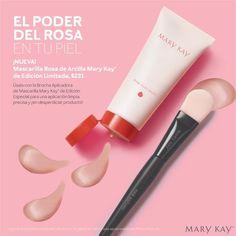 Mary Kay At Play, Cremas Mary Kay, Face Mask Brush, Imagenes Mary Kay, Mary Kay Cosmetics, Tips Belleza, Beauty Care, Mascara, Lashes