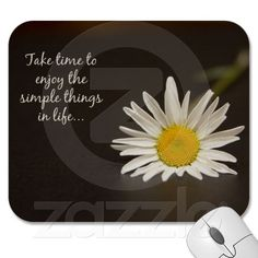 A great mousepad for daisy lovers!