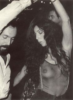 Cher partying at Studio 54
