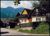 Slovakia - Heart of Europe: Vlkolinec, near Ruzomberok