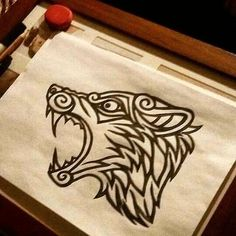 Gonna turn this into a banner at some point – Norse Mythology-Vikings-Tattoo Fenrir Tattoo, Norse Tattoo, Celtic Tattoos, Wolf Tattoos, Body Art Tattoos, Celtic Wolf Tattoo, Norse Pagan, Pagan Art, Norse Mythology
