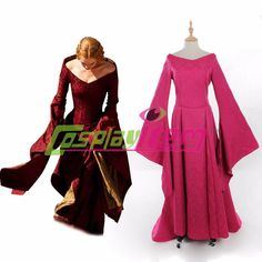 Customized  Game of Thrones Cersei Lannister dress costume fuschia version adult women's Halloween cosplay costume  //Price: $US $112.85 & FREE Shipping //     #gameofthrones #gameofthronestour #gameofthronesfamily  #starks #got #agot #asoiaf