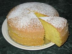 Citronová babeta Czech Recipes, Russian Recipes, Y Food, Food And Drink, Bunt Cakes, No Bake Pies, Sweet And Salty, Something Sweet, Vanilla Cake