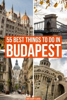55 Best Things to Do in Budapest (+Tips!) - Our Escape Clause - - 55 Best Things to Do in Budapest (+Tips!) – Our Escape Clause Hungria European Vacation, European Destination, European Travel, Cool Places To Visit, Places To Travel, Travel Destinations, Greece Destinations, Europe Travel Guide, Travel Guides