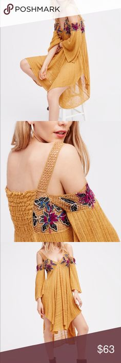 Free people paradise tunic Used only a few times..💐 Free People Tops Camisoles