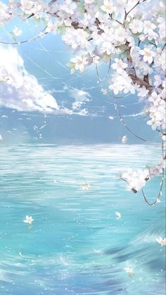 List of Awesome Anime Wallpaper IPhone Scenery - iPhone X Wallpapers Anime Scenery Wallpaper, Aesthetic Pastel Wallpaper, Cute Wallpaper Backgrounds, Pretty Wallpapers, Aesthetic Wallpapers, Blue Sky Wallpaper, Trendy Wallpaper, Phone Wallpapers, Sky Anime