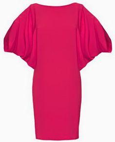 yo elijo coser: Patrón gratis: vestido muy fácil con mangas de murciélago