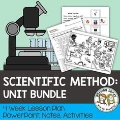 This Scientific Method bundled unit will get your students to be critical thinkers and inquirers in the Scientific Method Studies as they learn about the Steps of the Scientific Method & Practice; Control, Independent, and Dependent Variables; Observation