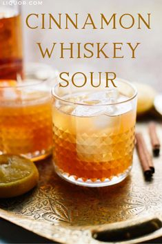 Spicy, sweet and sour, this drink has all the flavors you need in a cocktail. The Cinnamon Maple Whiskey Sour is the perfect winter drink that will bring warmth to a chilly day. Cocktails Other Whiskey Cocktails Whiskey Sour, Peach Whiskey, Maple Whiskey, Cinnamon Whiskey, Whiskey Cocktails, Cinnamon Spice, Warm Cocktails, Irish Whiskey, Classic Cocktails