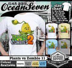 Kaos Plants vs Zombie hasil sablon rapi, gradasi & raster mendetail. Warna tajam, tekstur halus & menyerap ke kain. Awet, tahan lama & nyaman dipakai.