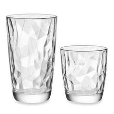 Bormioli Rocco Diamond Collection 16-Piece Beverage Set - BedBathandBeyond.com