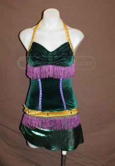 shopgoodwill.com: Velvet Marty Gras Costume