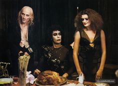 The Rocky Horror Picture Show - Lobby card with Tim Curry, Patricia Quinn & Richard O'Brien