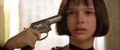"""I want love, or death. That's it. I love you, Léon."" (Léon: The Professional, 1994) Natalie Portman, Mathilda, Jean Reno"