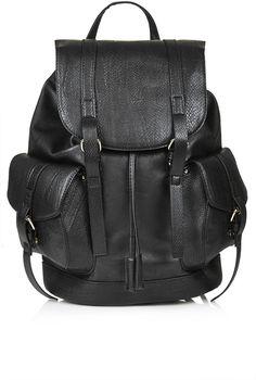 Snake pocket backpack