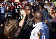 """The Rev. Willis Johnson's church is in the Missouri town where 18-year-old Michael Brown was killed by a police officer. His recent interaction with an angry teen protester was emotional for him. Comparison to Walter Younger in """"Raisin"""""""