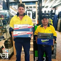 These boys from #NSW Roads are looking really happy with their purchase of some new boots from  @blundstone @steelblueboots @oliverfootwear  Keep up the hard work guys as you help our roads become #safer!  #distinctiveimage #workwear #safety #uniform #embroidery #printing #boots #hospitality #schools #health #beauty #tradie #plumber #electrician #carpenter #farming #corporate #building #landscaping #mechanics #gym #sports #kids #bricklayer #construction #traffic #truckies #concretor