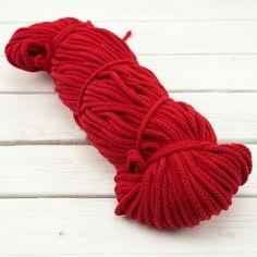 Kordel Baumwolle mit Kern rot Accessories, Fashion, Fabrics, Red, Cotton, Moda, La Mode, Fasion, Fashion Models