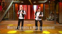 Due x Duo strip cabaret http://www.morraeventsemanagement.com/made-in-sud.html #madeinsud #cabaret #comici #eventi