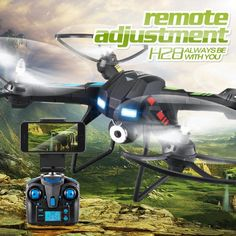 JJRC H28W 2.4G 4CH 6-Axis Gyro RC Quadcopter Drones With 0.3MP WIFI Camera RC toy Headless Drone Mini Drone RC toys xj