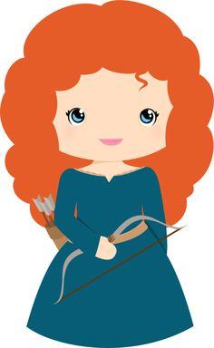 Free Princess Merida Brave Clip Art - Princesses & Tiaras ~ Princess Party Ideas, Princess Themed Events, Princess Party Inspiration & More