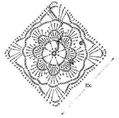 grafico de squares com flores - Pesquisa Google