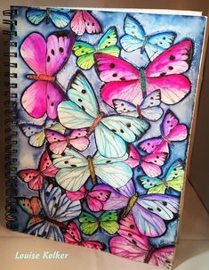 Follow me on my Art Journey: Whisper to the butterfly....