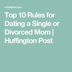 How to start dating again after divorce as a single mom