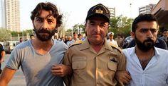 Turkish Navy Mediterranean Region Commander Admiral Nejat Atilla Demirhan was detained in Mersin. AA photo