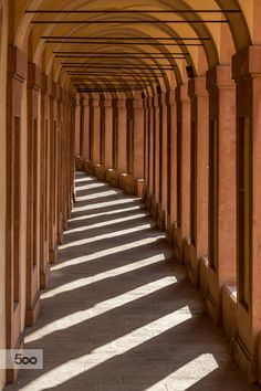 It is uphill or downhill? Portico San Luca - Bologna by Stefano Guerrini by Stefano Guerrini on 500px