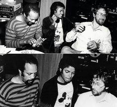 Michael Jackson , Quincy Jones , Steve Spielberg
