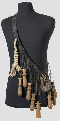 Ethnographic Arms & Armour - Ca. 1500 to 1650: Bandeliers for Arquebusiers and Musketeers