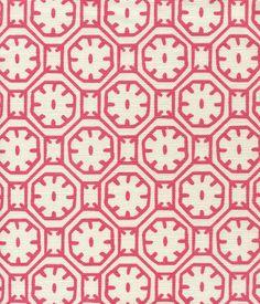 Ceylon Batik Magenta on Tint Geometric Tiles, Geometric Fabric, Geometric Patterns, Fabric Design, Pattern Design, Painted Rug, Moroccan Pattern, Pretty Patterns, Textile Patterns