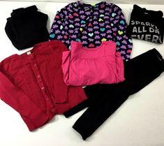 5eae2e31e450b Jumping Beans Cherokee Toddler Girls Tops Sweater Leggings MixedLot Size 4T   JumpingBeans  Everyday Toddler