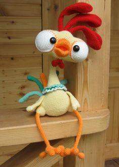 Amigurumi Archives - Page 2 of 367 - Craft Day Crochet Birds, Easter Crochet, Cute Crochet, Crochet Animals, Crochet Crafts, Yarn Crafts, Crochet Projects, Crochet Dinosaur, Crochet Ideas